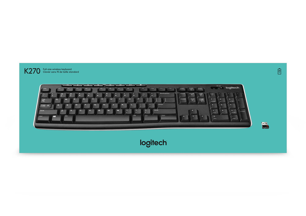 Bàn phím Logitech K270