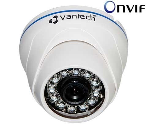 Camera IP Vantech VP-180S dome hồng ngoại