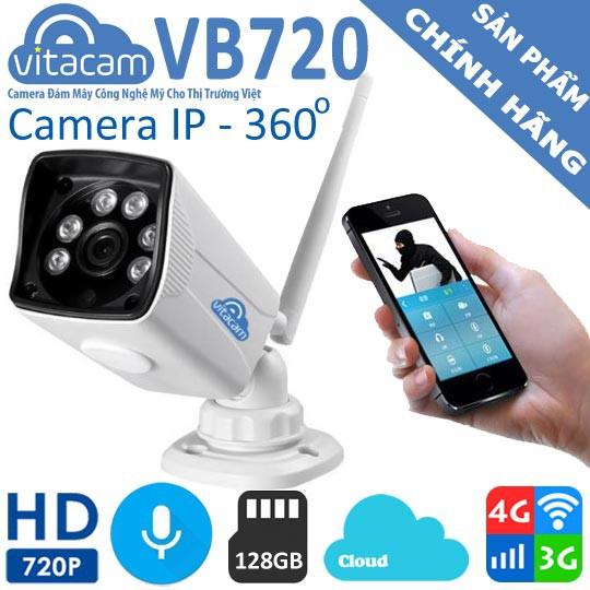 Camera Vitacam VB720 (Camera Ngoài Trời) - Hàng Chính Hãng