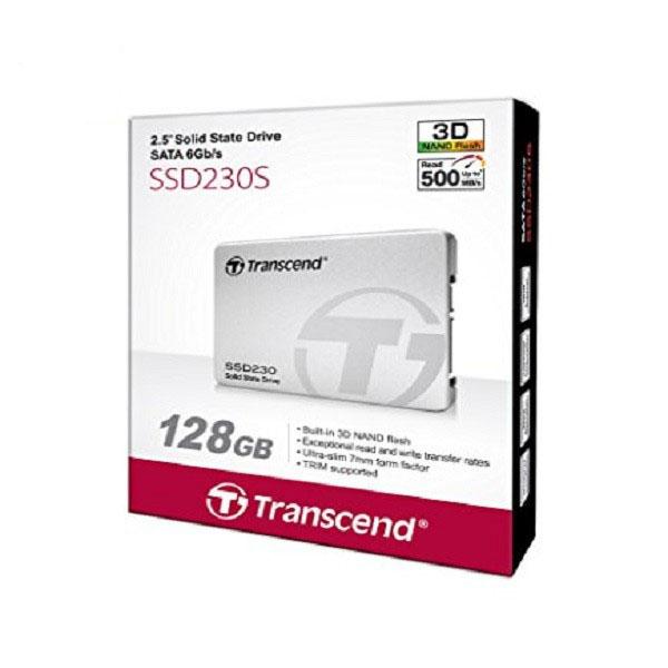 Ổ SSD Transcend SSD230S 128Gb SATA3 (đọc: 560MB/s /ghi: 500MB/s)